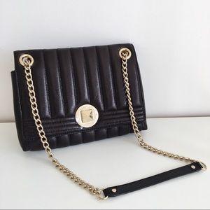 KATE SPADE Black Evangeline Gold Coast Bag
